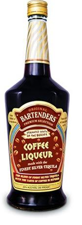 Original Bartenders Cocktails Coffee Liqueur With Silver Tequila